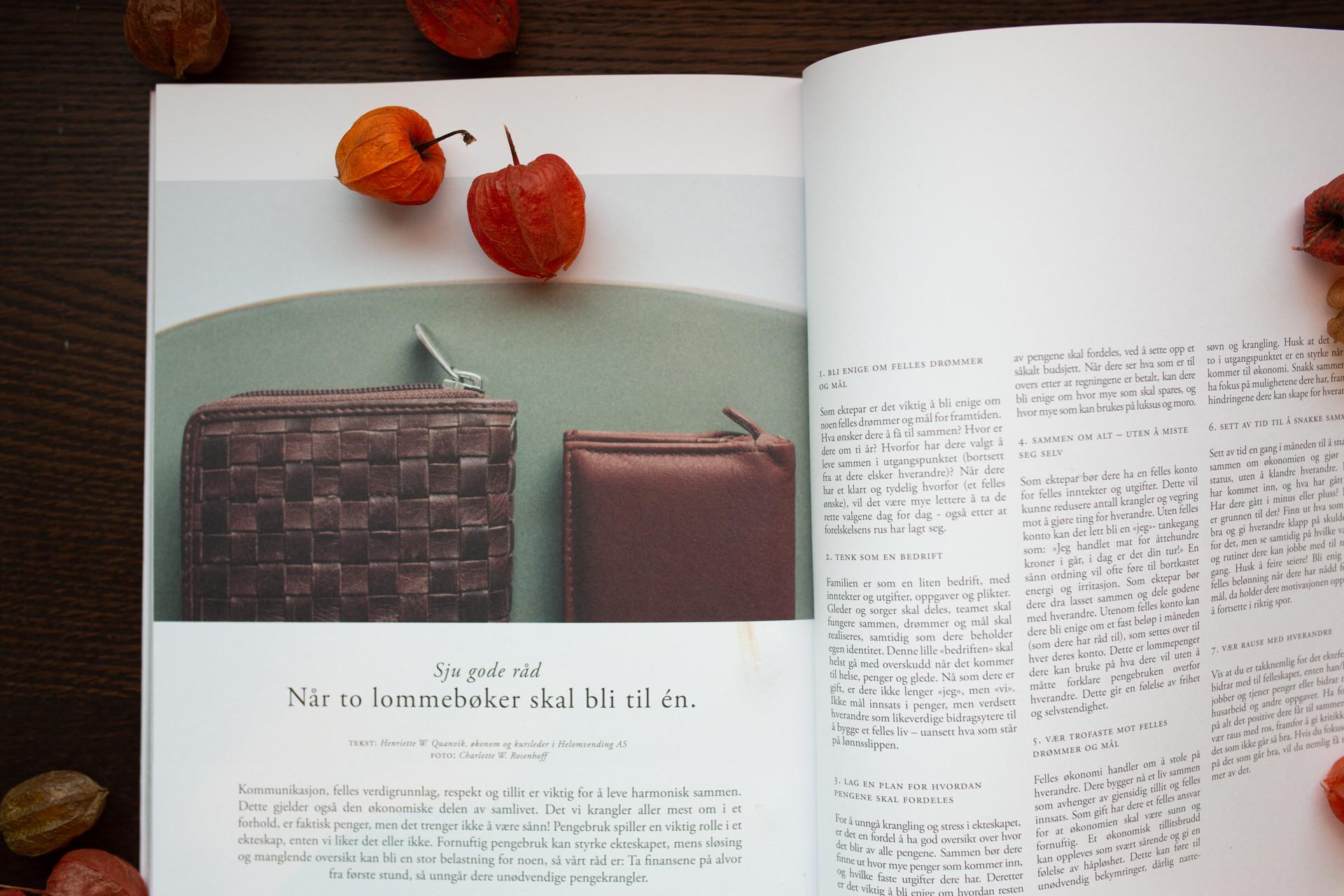 Artikkel og omtale - Helomvending - Henriette W. Quanvik