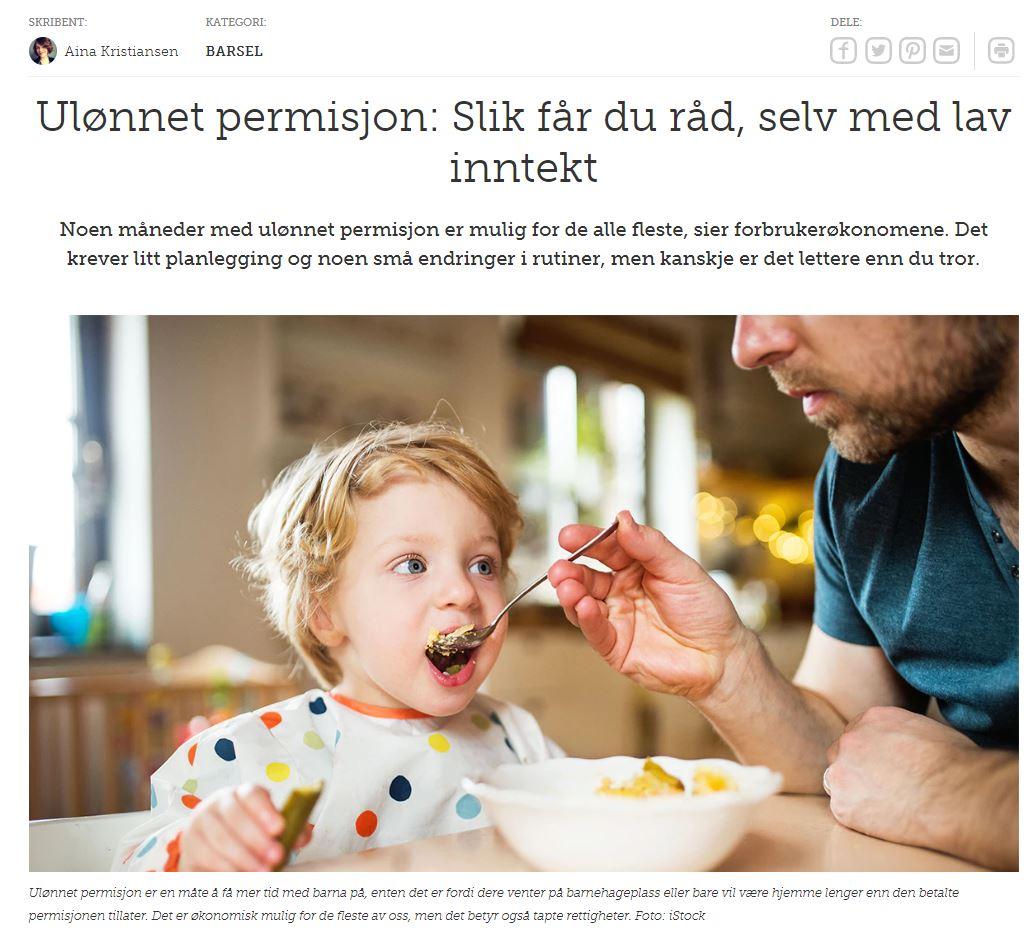 Artikkel og omtale av Helomvending AS - Henriette W. Quanvik