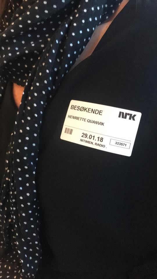 Radiointervju NRK Helomvending - Henriette W. Quanvik